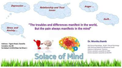 Best Counselling Psychology Clinics in Mathura Road