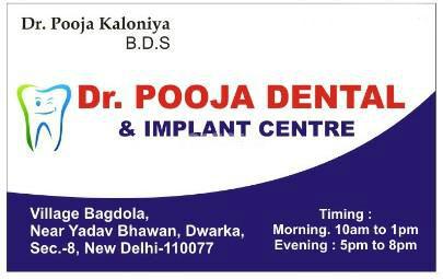 Dr Pooja Dental & Implant Centre