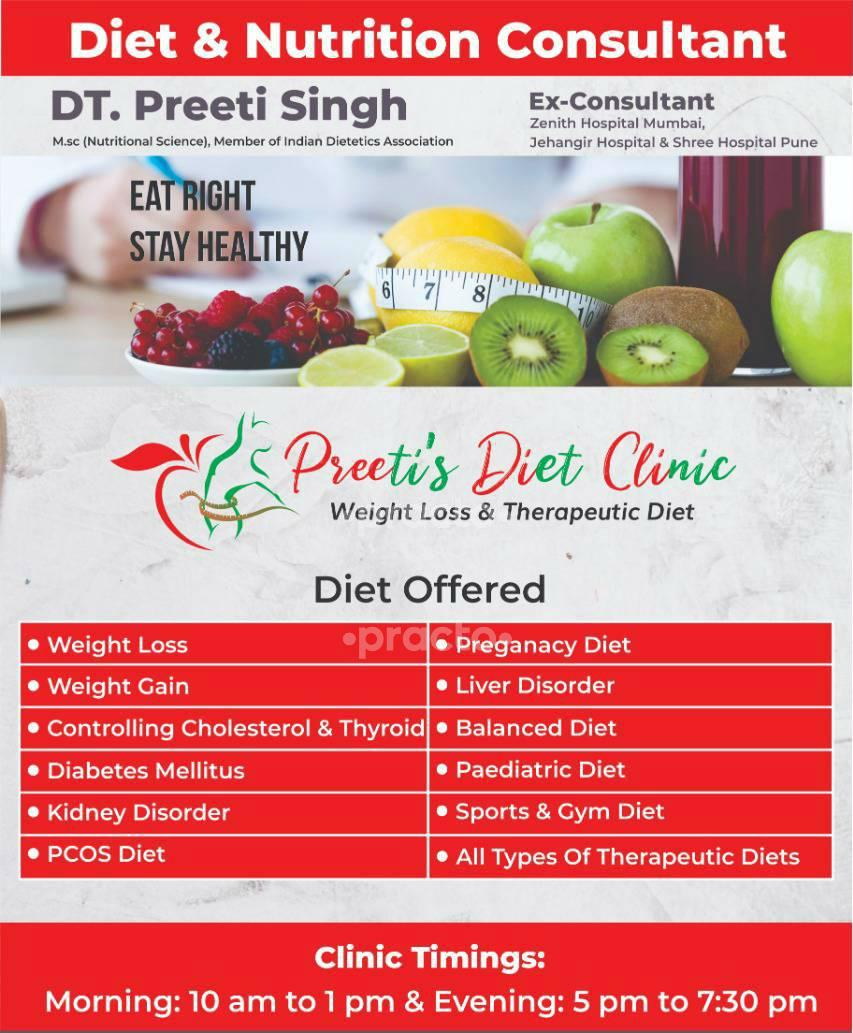 Dietitian Nutritionists In Pune - Instant Appointment Booking, View ...