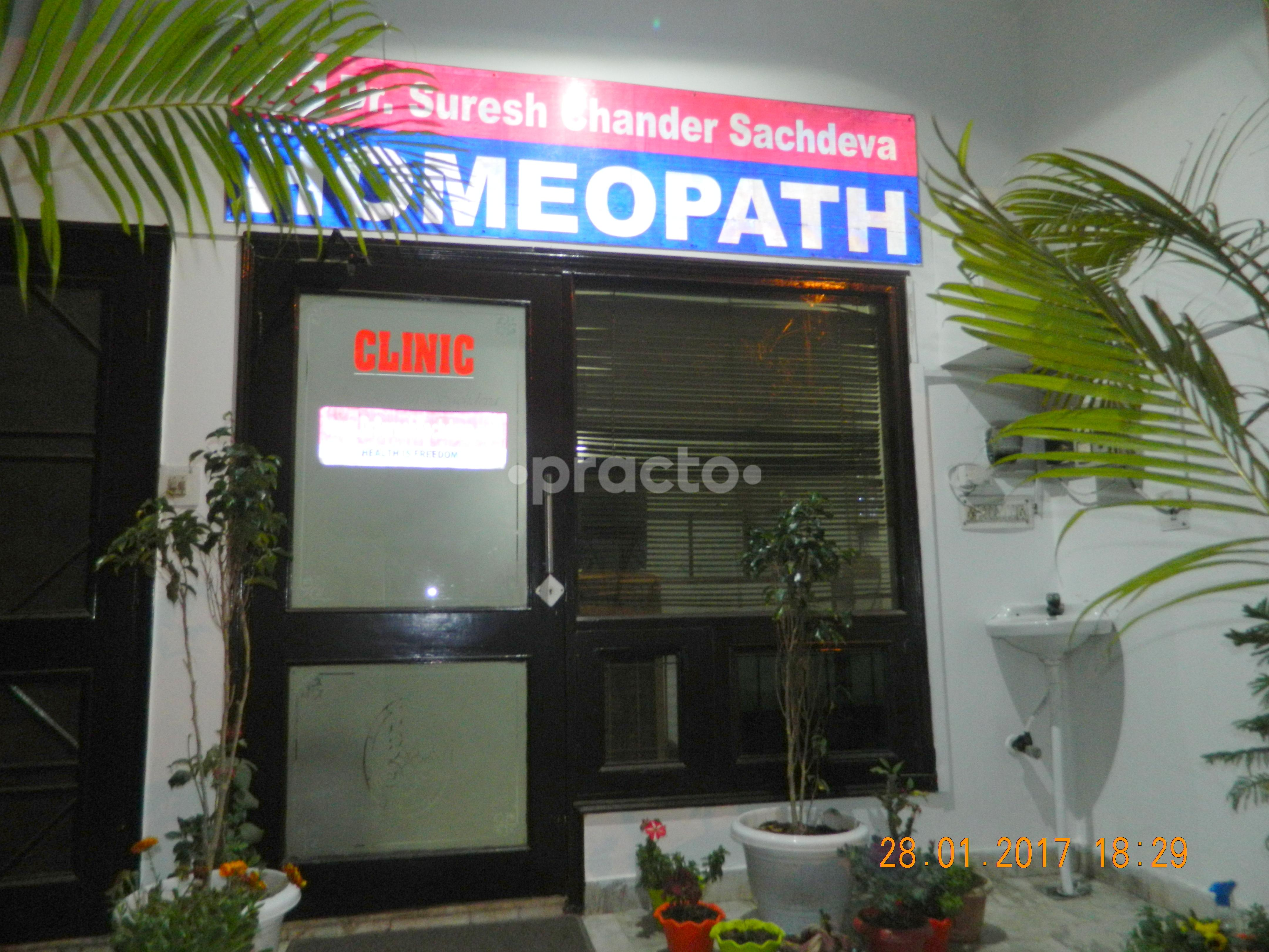 Dr  Suresh Chander Sachdeva - Homoeopath - Book Appointment