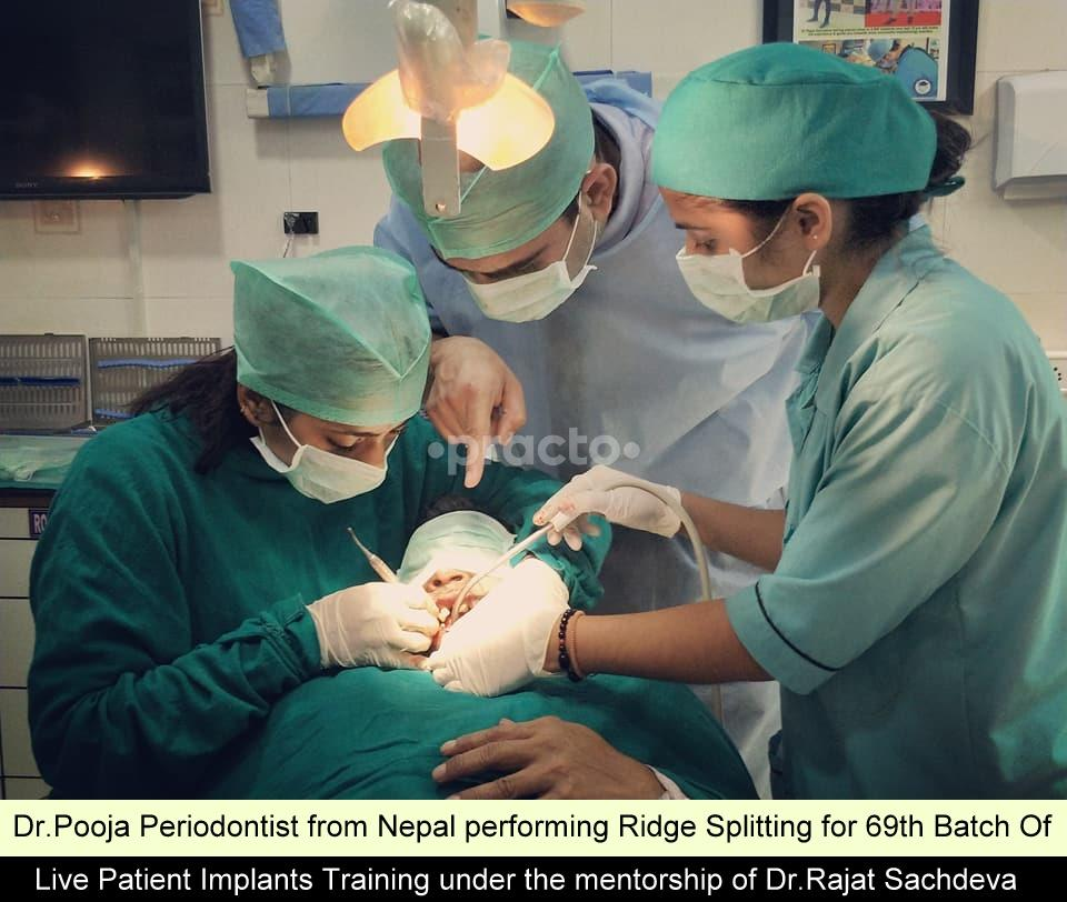 Dr  Rajat Sachdeva - Implantologist - Book Appointment Online, View