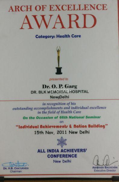Dr  (Col ) O P Garg - Rheumatologist - Book Appointment