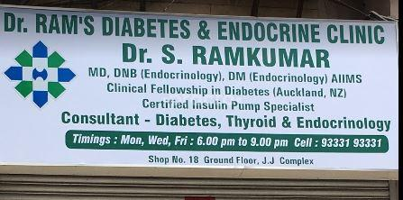 Dr  Ram's Diabetes & Endocrine Clinic, Multi-Speciality