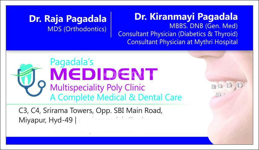 Pagadala's Medident Multispeciality Polyclinic