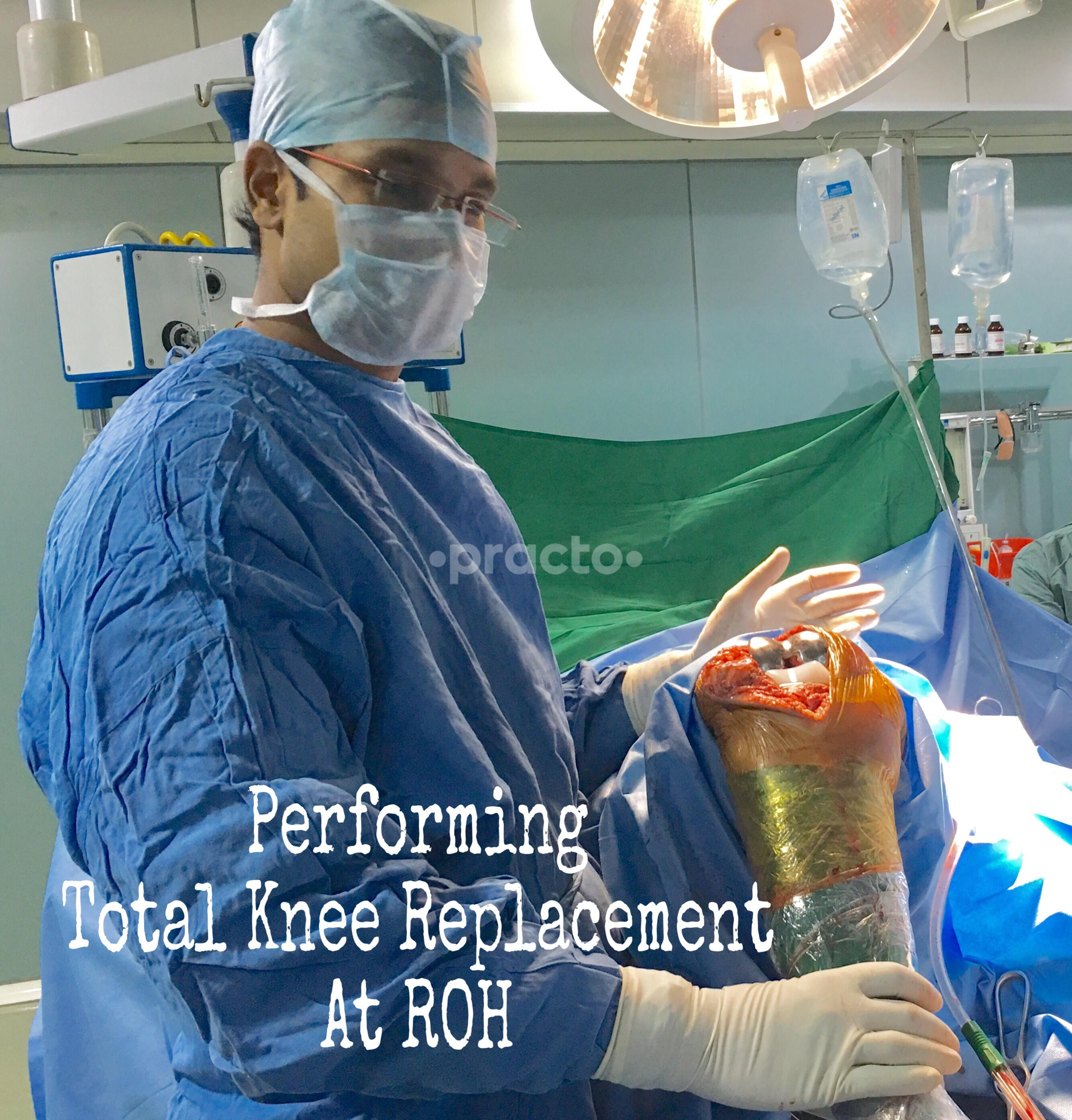 Dr  M V Hariprasad - Joint Replacement Surgeon - Book Appointment