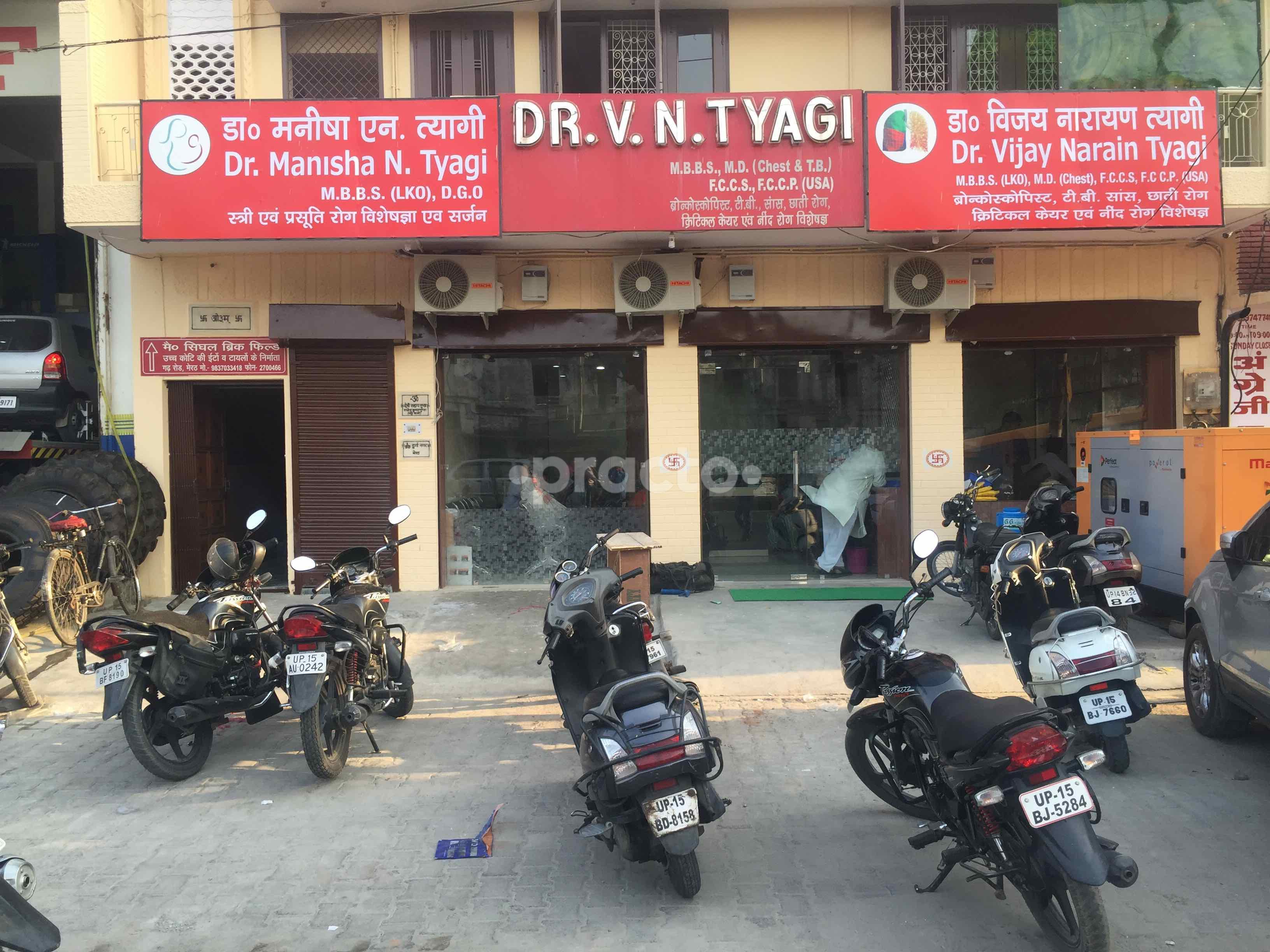 Dr  Vijay Narain Tyagi - Pulmonologist - Book Appointment