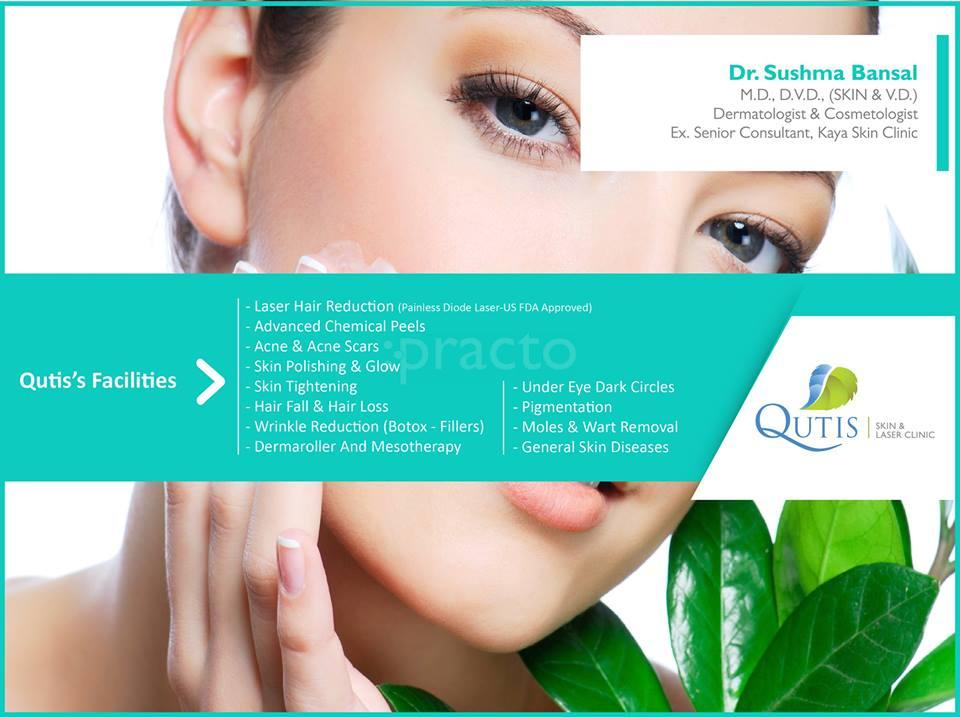 Qutis Skin And Laser Clinic, Skin Clinic in Bopal, Ahmedabad - Book