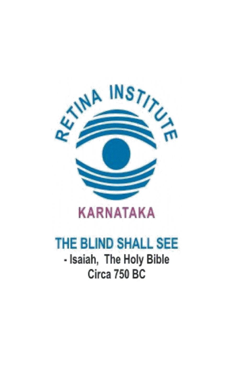 Retina Institute Of Karnataka
