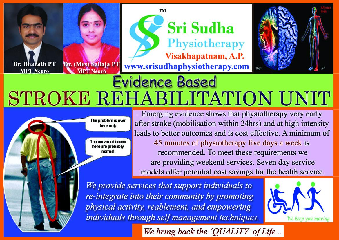 Sri Sudha Physiotherapy Clinic, Neuro Physiotherapy Clinic